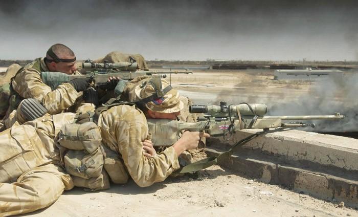 SAS Sniper Basra, Iraq