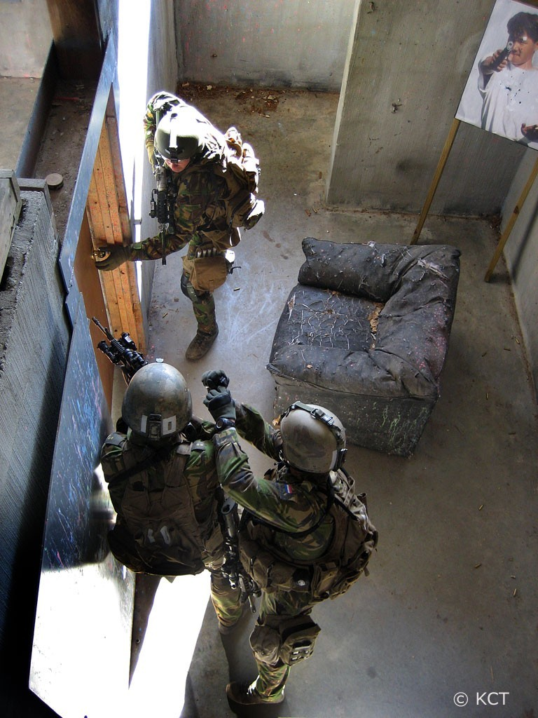 Dutch SF Conduct CQB Training. What I imagine the 300BLK will be used for