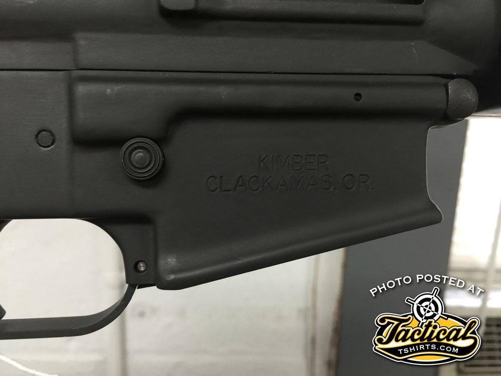 Daewoo Rifle Magwell