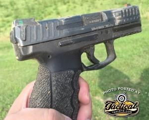 Closeup of CCW Pistol