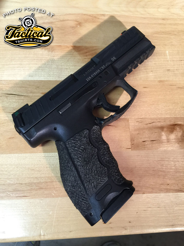 POTD - HK VP9 around 6 months of wear.
