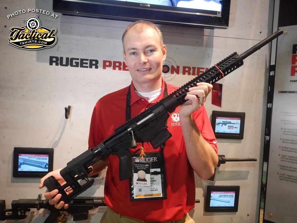 Ruger Precision bolt gun