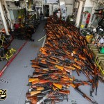 Australian Warships Seize Smuggled Weapons.