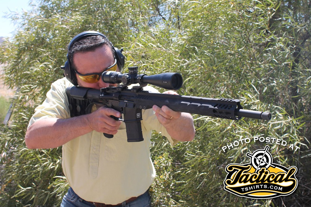 A properly adjusted gas block results in a gun that moves a lot less under recoil. It's almost like having a muzzle brake without the blast.