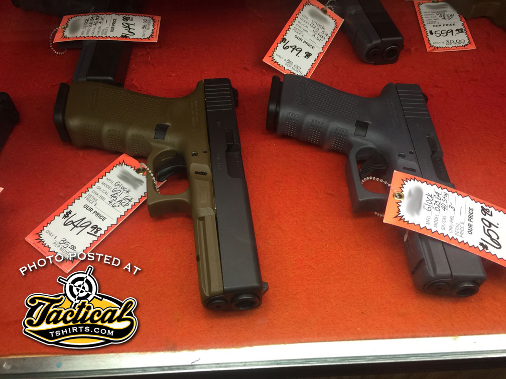 Glock 21 & Glock 23