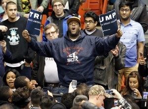 Imagine the media's reaction if this happened during Obama rally in 2008?