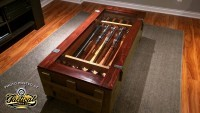 Coffee Table Made From Mosin Sniper Crate