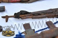 Somali Pirate AK's Captured