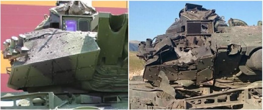 Video Turkish M 60 Tank Survives Hit By Modern Atgm