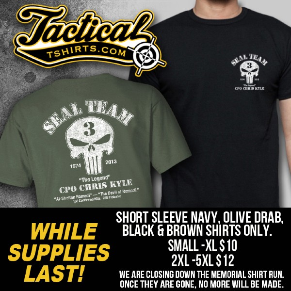 The Chris Kyle - Chad Littlefield Memorial Shirt