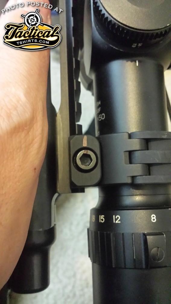 Scope Ring Marks