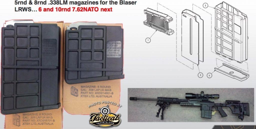 Boom! The AUS Extend Blaser Tactical 2 Magazine