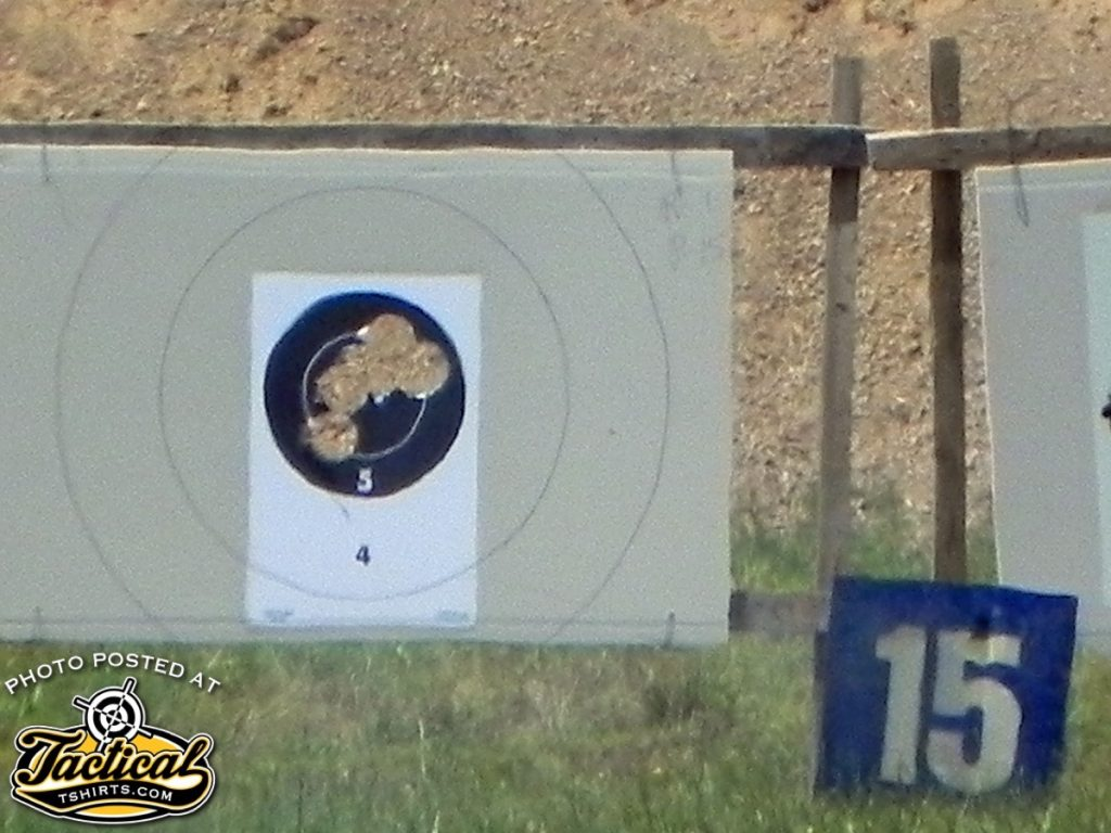 One-hole groups at 200 yards is not uncommon even with smoothbore cannons.