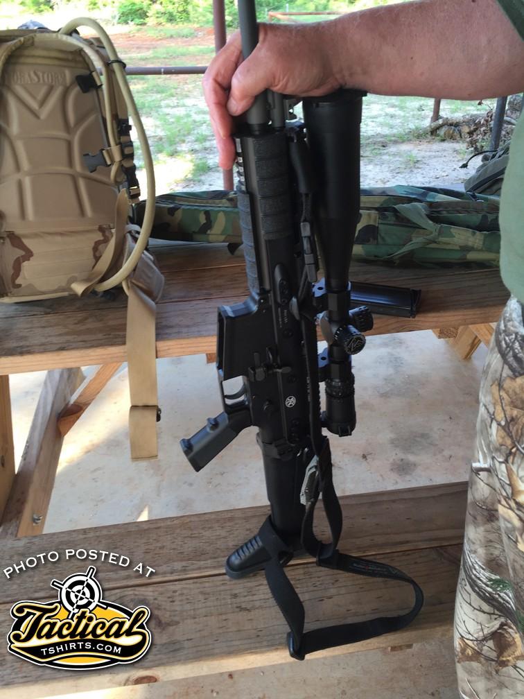 SCAR 17 setup for Pig Hunting