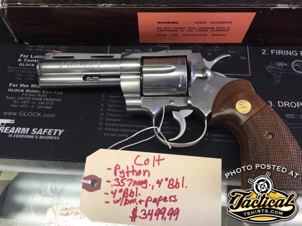 "Stainless Colt Python 4"" – John1911 com Gun Blog"