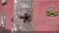 Video — Tank Round Though Tree