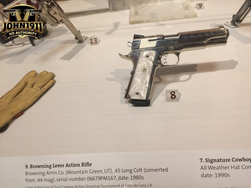Bob was a 1911 shooter as well.