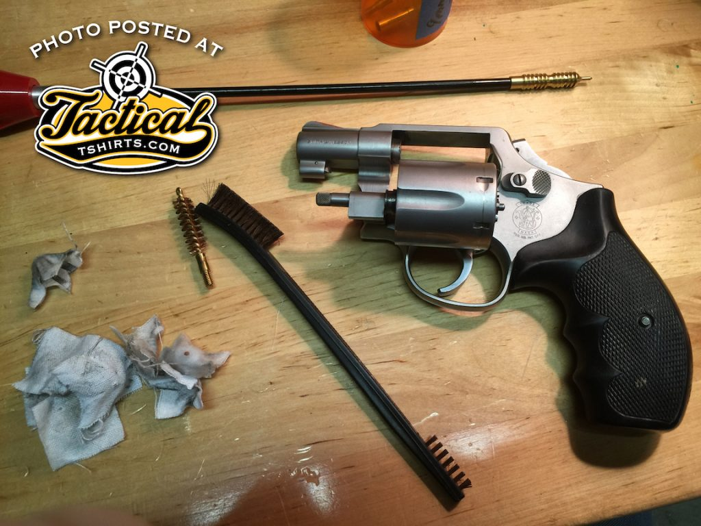 POTD -- Cleaning S&W Model 64