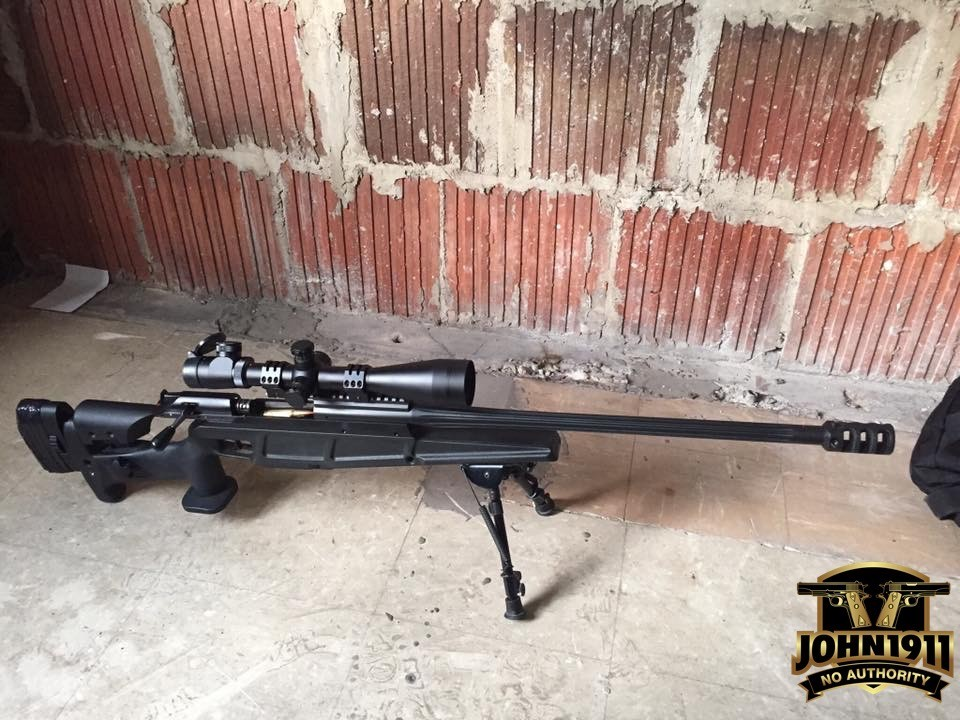 Police Sniper's Rifle: Blaser Tactical 2 in 308