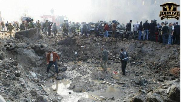Rafic Hariri bombing.