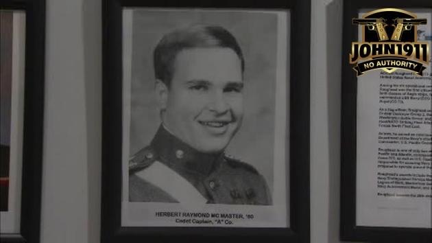 Herbert Raymond McMaster as a cadet.