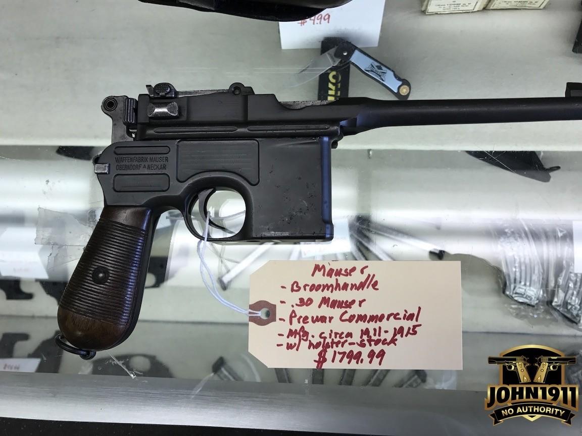 broom handle mauser 30 mauser or 9mm luger john1911 com gun blog