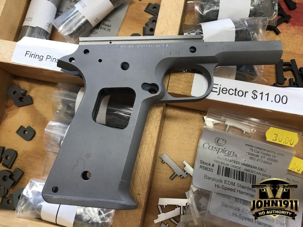 Foster 1911 Frames | John1911.com Gun Blog