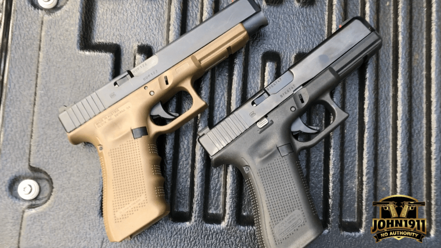 Gen 5 Glock vs Gen 4 Glock – John1911 com Gun Blog