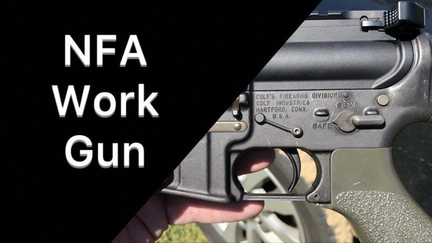 M16a2 NFA Police Rifle