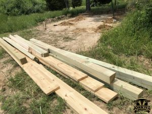 Rifle Range Picnic Shelter Construction