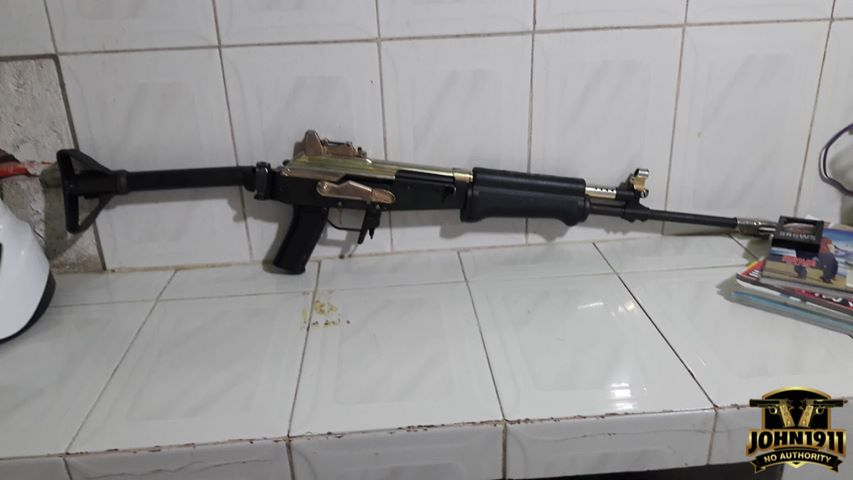 308 Caliber Valmet AK Rifle in Mexico