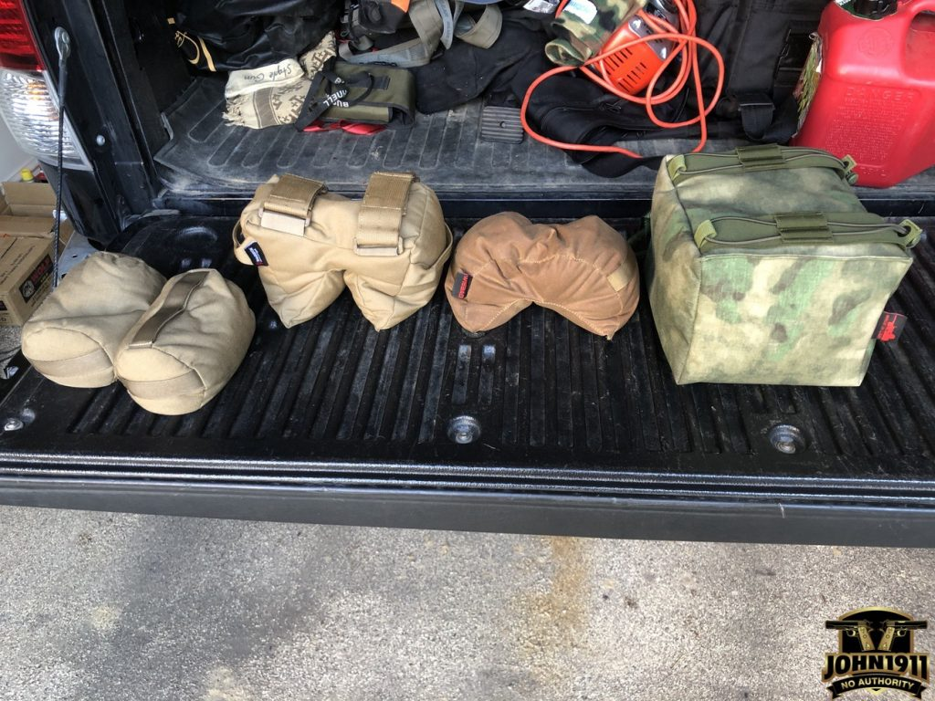 Various Shooting Bags