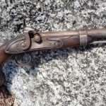 Model 1836 Johnson Flintlock Pistol
