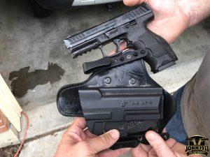 Real Life CCW Guns. HK Vp9. Hybrid Holster