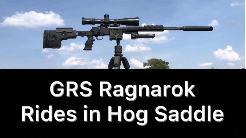 GRS Ragnarok Hog Saddle