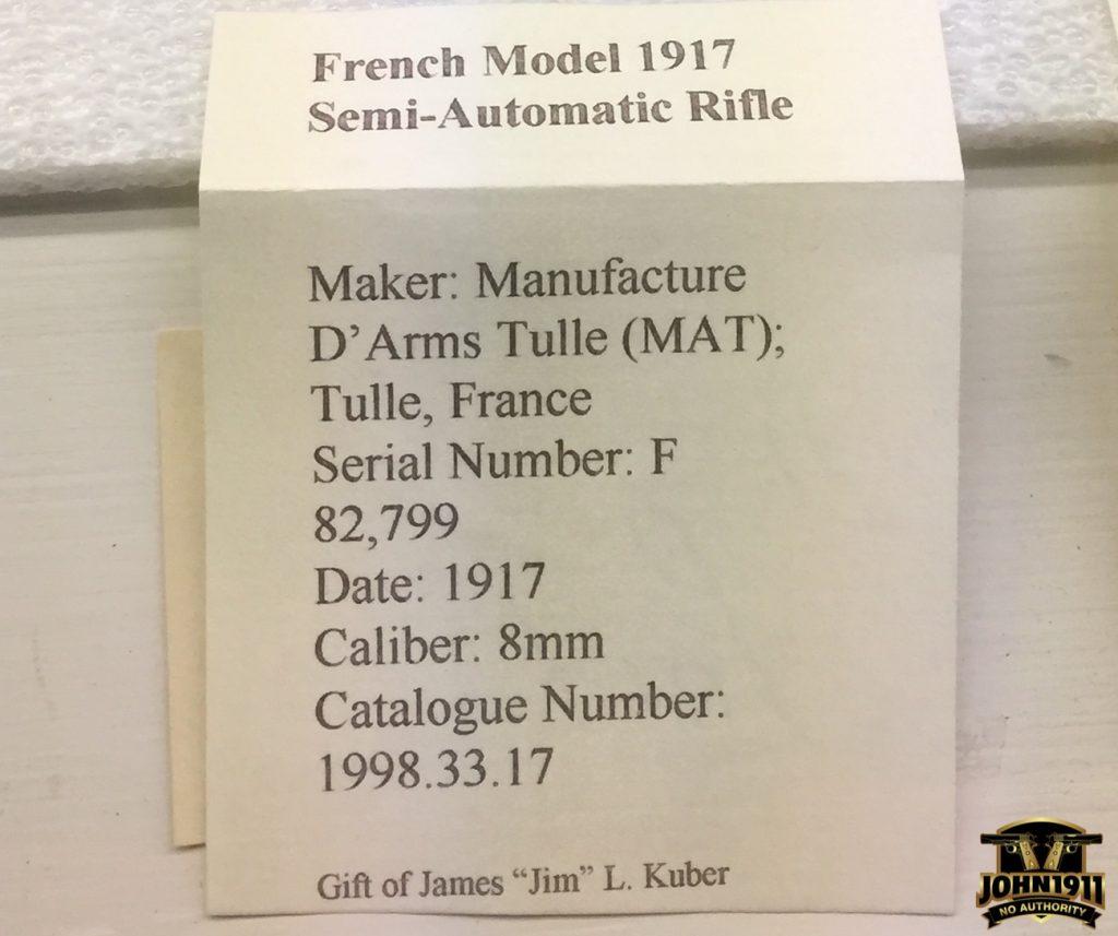 French Model RSC-1917