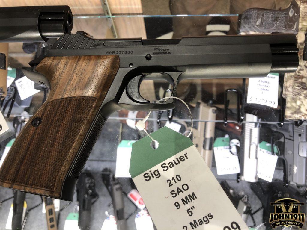 Sig P210 Standard vs P210 Target
