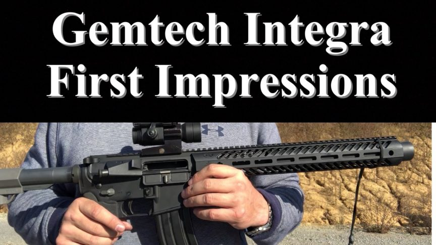 Gemtech Integra first shots, first impressions.