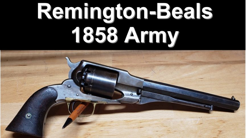 1858 Remington-Beals Army Revolver