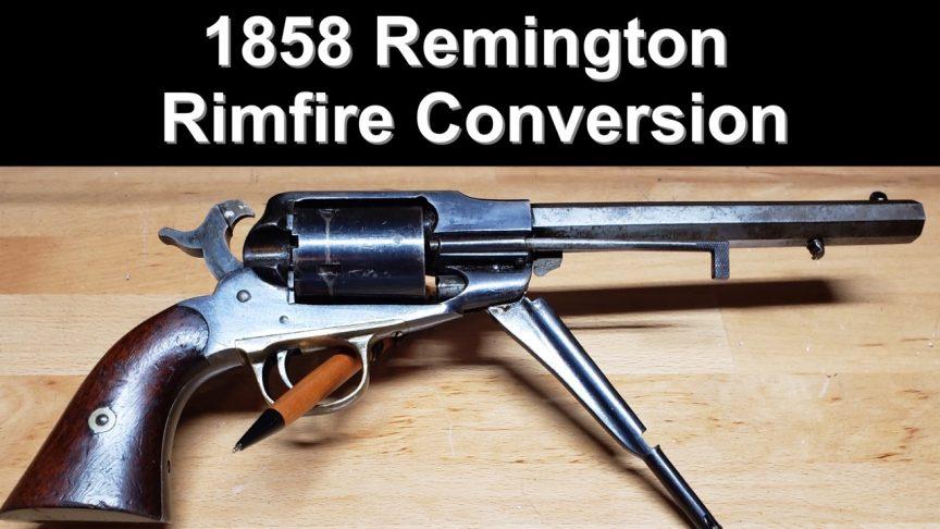 1858 Remington Rimfire Conversion
