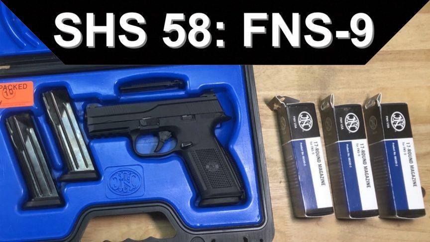 SHS 58. FNS-9 Pistol.