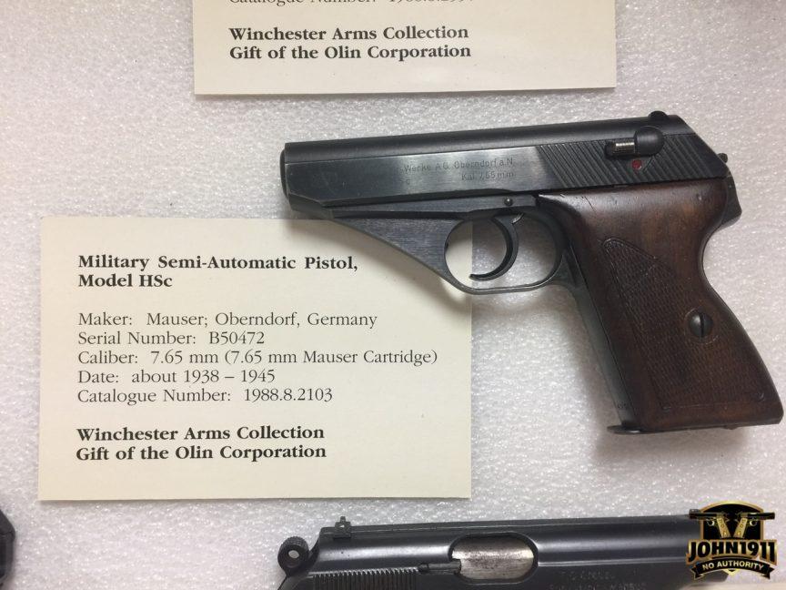 POTD - Mauser HSc Pistol.