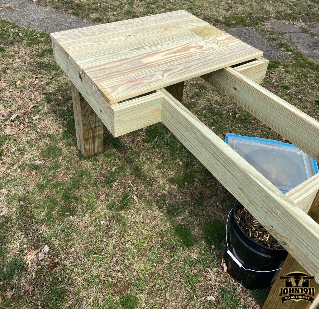 PD Range Bench Upgrades