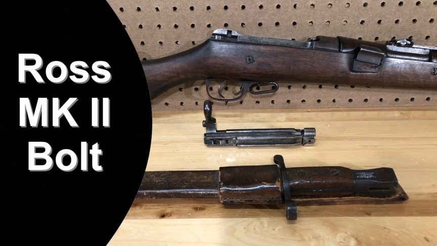 Ross Rifle 1905 MK II Bolt