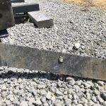 AP ammo on a steel target. Armor piercing ammunition.