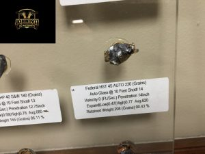 Hollow Point Expansion Display. ATK.