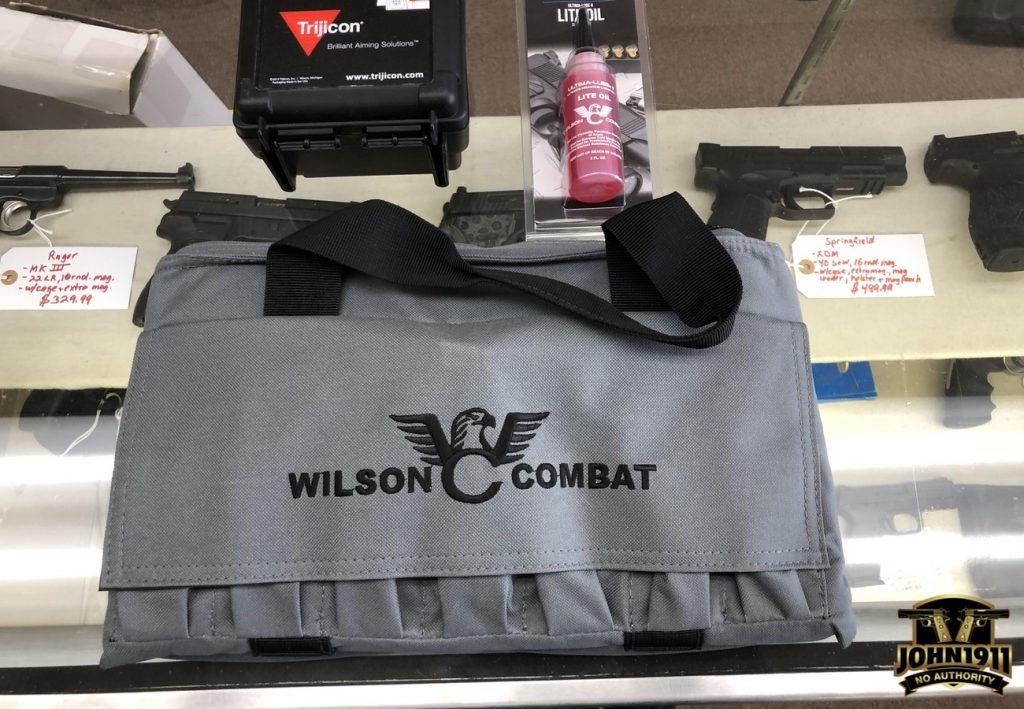 Wilson X9L. Wilson X9L with SRO RDS.