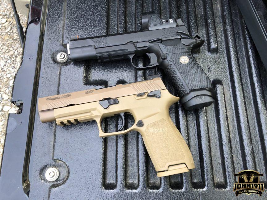 SIG M18 vs Wilson EDC X9L