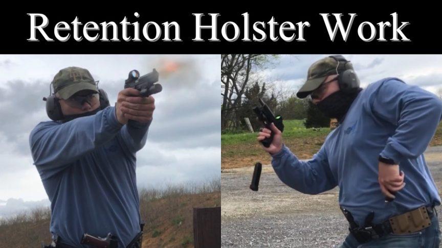 Retention Holster Work