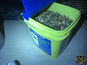 Buckets of Pistol Brass